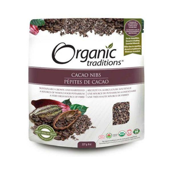 Organic Traditions Organic Cacao Nibs - 2 Sizes