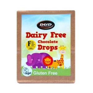 D D Chocolates Dairy Free Drops 43g x 8