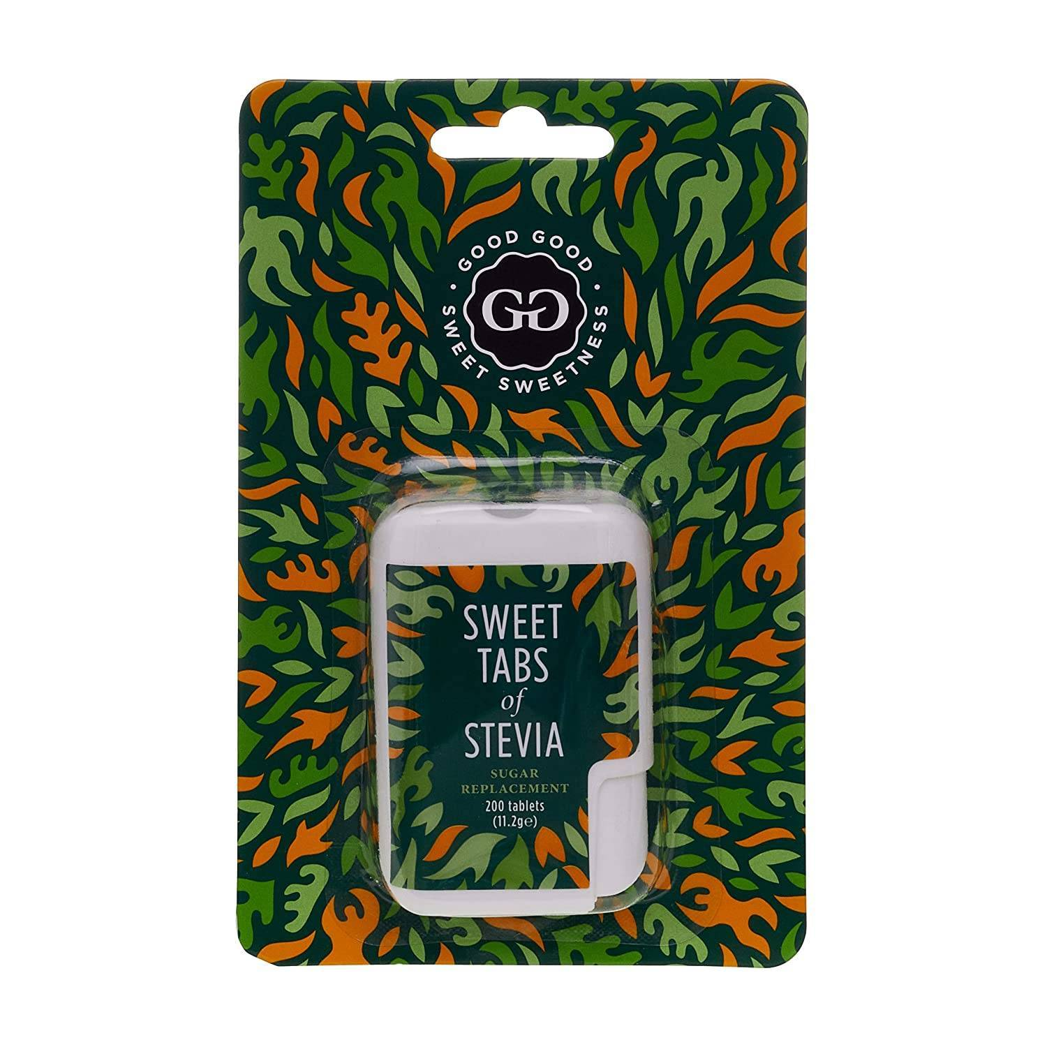 Good Good Stevia - Sweet Stevia Tabs Display 200tabs (x 10pack)