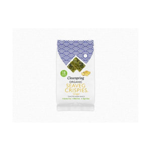 Clearspring Wholefoods Organic Seaveg Crispies - Ginger 4g x 16