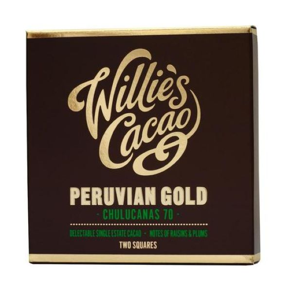 Willie'S Cacao Chulucanas Gold Peruvian 70 80g x 12