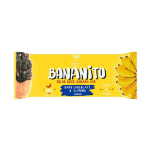 Bananito Banana Dark Chocolate & Almonds 30g x 12