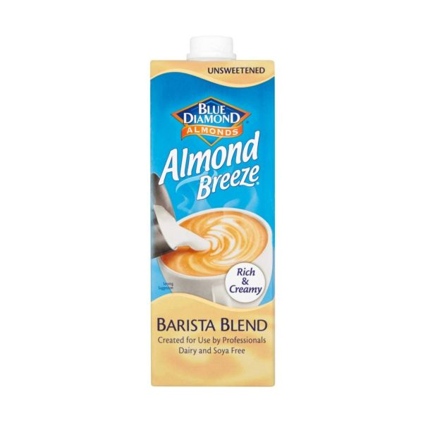 Bd Almond Breeze Barista 1lt x 8
