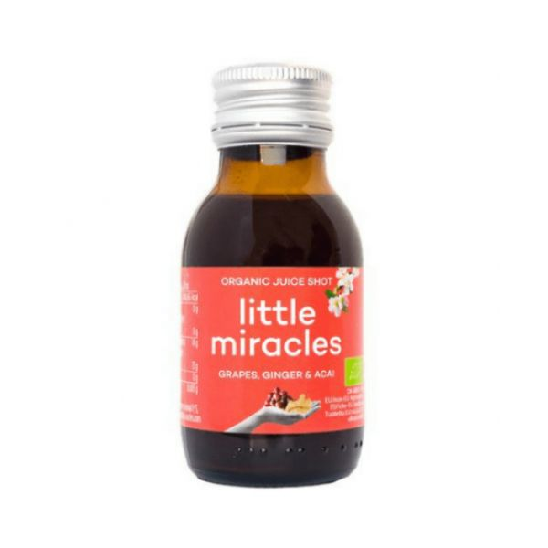 Little Miracle Grape Ginger Acai 60ml