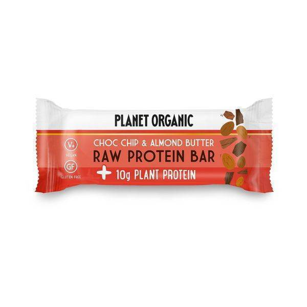 Planet Organic - Organic Almond Butter & Chocolate Chip Cookie 50g (x 12pack)