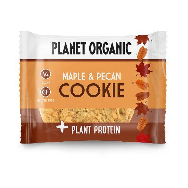 Planet Organic - Organic Maple Pecan Cookie 50g (x 12pack)
