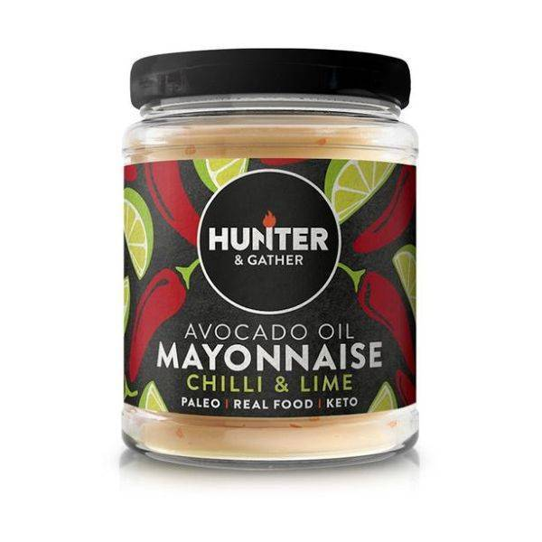 Hunter & Gather - Avocado Oil Mayonnaise Chilli & Lime 175g