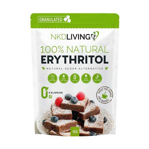Nkd Living - Nkd Living Erythritol Granulated (1kg)