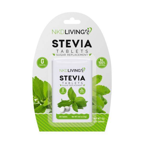 Nkd Living - Stevia Tablets 200tabs