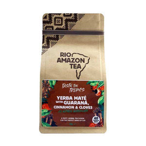 Rio Trading - Yerba Mate With Guarana & Cinnamon Cloves Teabags 40bags