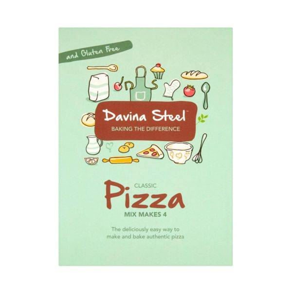 Davina Steel - Pizza Mix 400g
