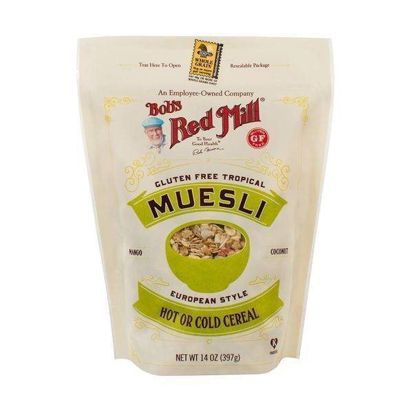 Bobs Red Mill - Gluten Free Tropical Muesli 397g