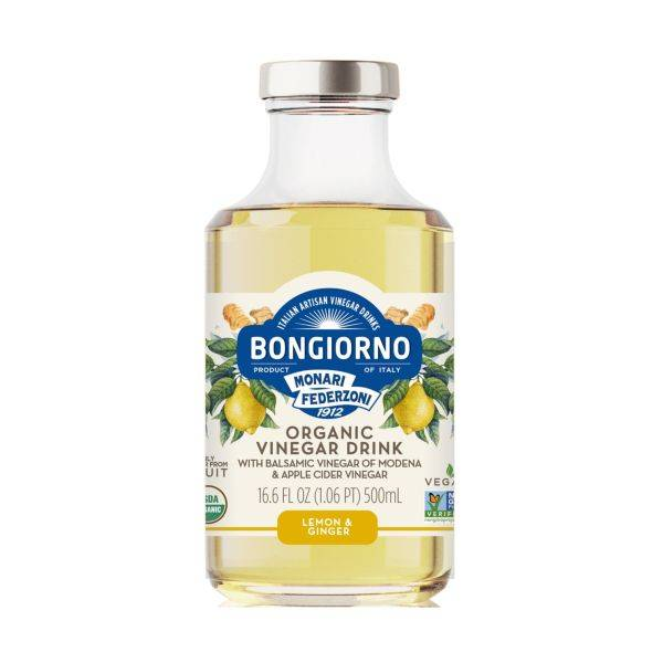 Bongiorno - Organic Vinegar Drink Lemon & Ginger 500ml