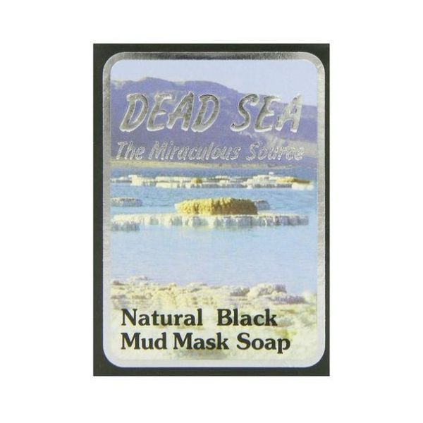 Malki Black Mud Mask Soap 90g