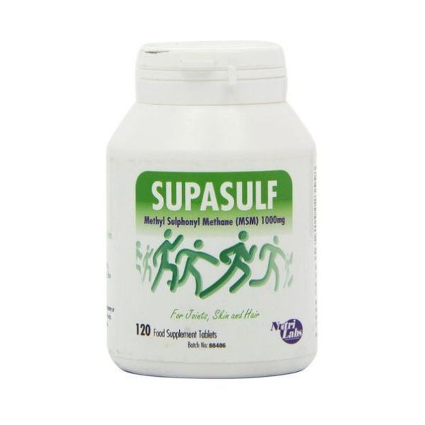 Nutritional Laboratories Supasulf Tablets 120tabs