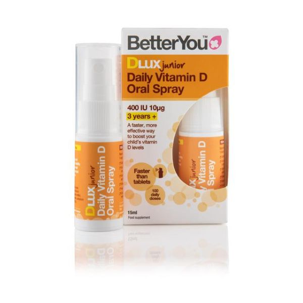 Better You Dluxjunior Daily Vitamin D Oral Spray 15ml