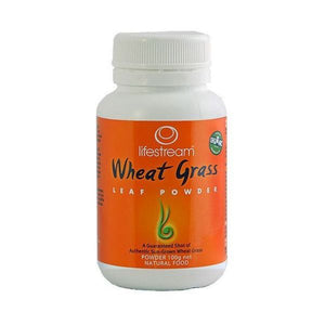 Lifestream Organic Wheat Grass Leaf Powder 100g