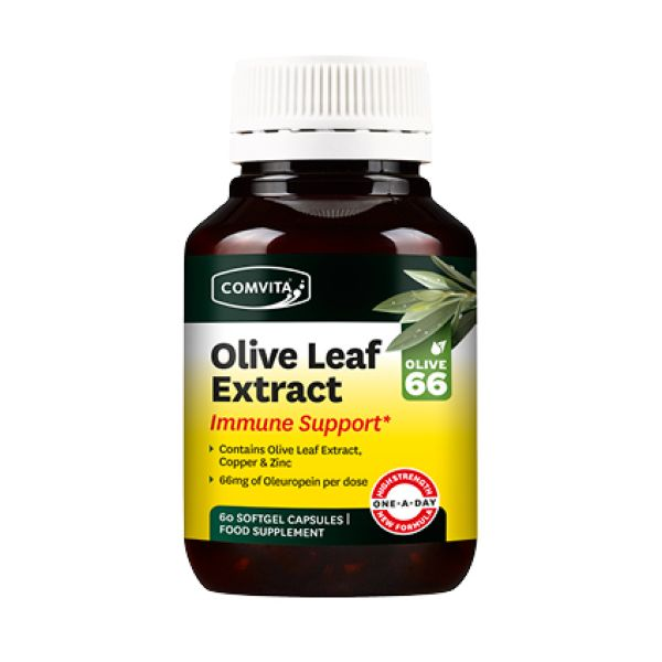 Comvita Products Olive Leaf Extract Immune Support 60 Capsules
