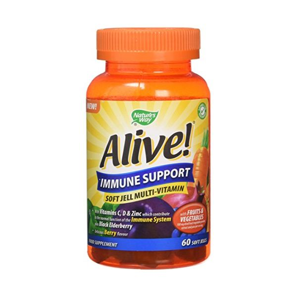 Nature's Way - Nature's Way Alive! Immune Support Soft Jells (60 Tablets)