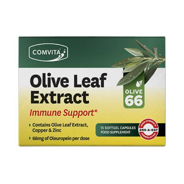 Comvita - Olive Leaf Extract Immune Support 15 Day Blister Pack 15caps