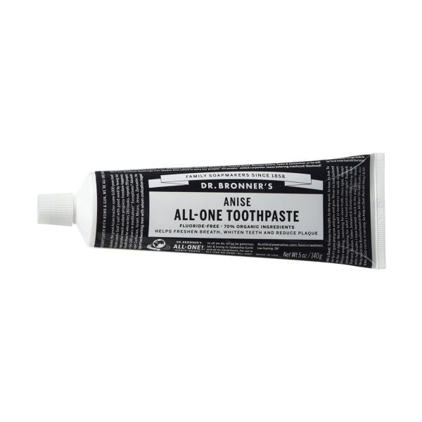Dr Bronners Organic All One Toothpaste - Anise 148ml