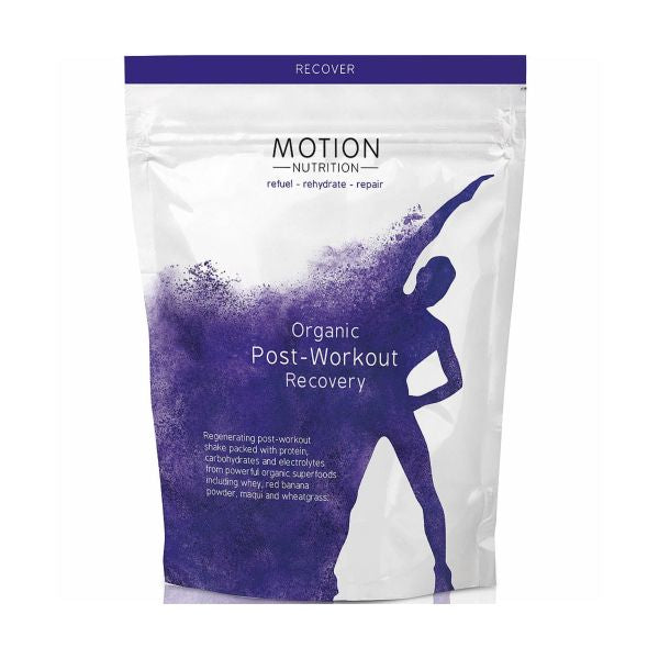 Motion Nutrition Organic Post Workout Recovery 480g