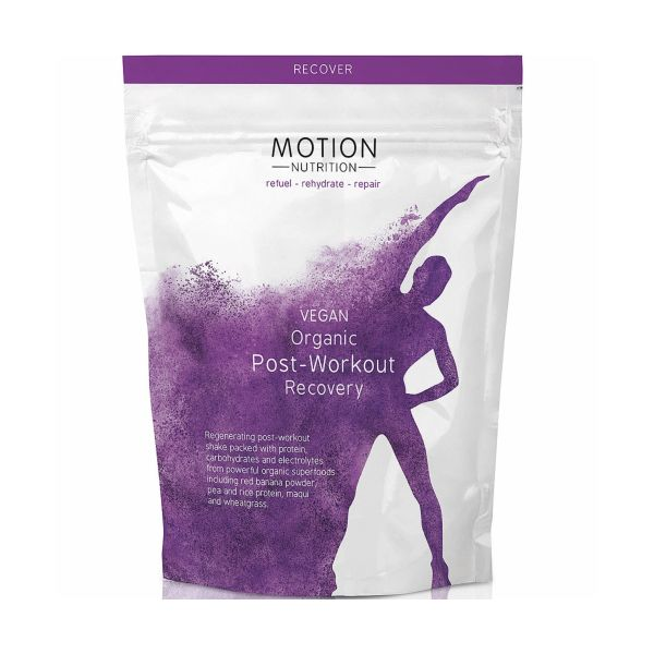 Motion Nutrition Vegan Organic Post Workout Recovery 480g