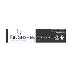 Kingfisher Naturally Whitening Charcoal Toothpaste 100ml