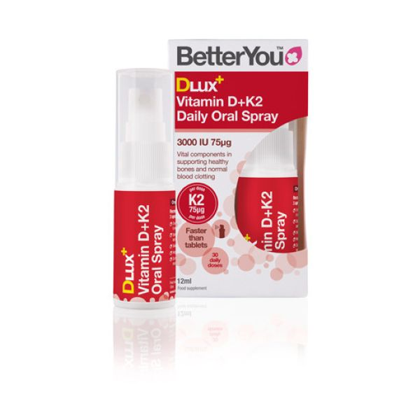 Better You Dlux Plus Vitamin D & K2 12ml