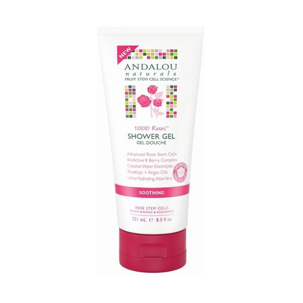Andalou Naturals 1000 Roses Soothing Shower Gel 251ml