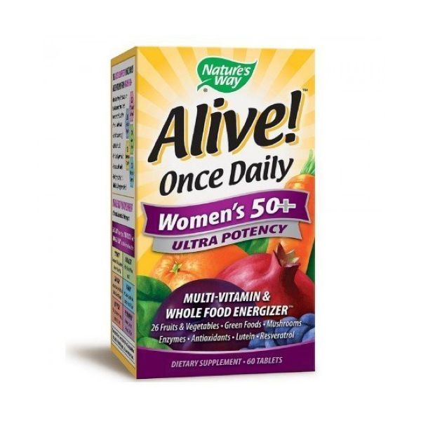 Alive Alive! Womens Ultra Wholefoods Plus 60tabs