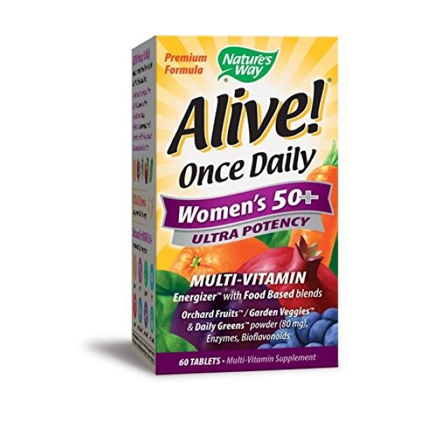 Nature's Way Alive! Womens 50+ Ultra Wholefoods Plus 60 Tablets