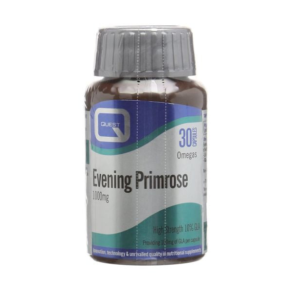 Quest Vitamins Evening Primrose Oil 1000Mg 30caps