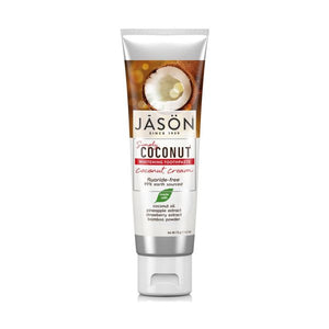 Jasons Natural Coconut Cream Whitening Toothpaste 119g