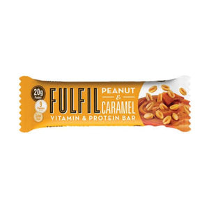 Fulfil Peanut & Caramel Vitamin & Protein Bar 55g x 15