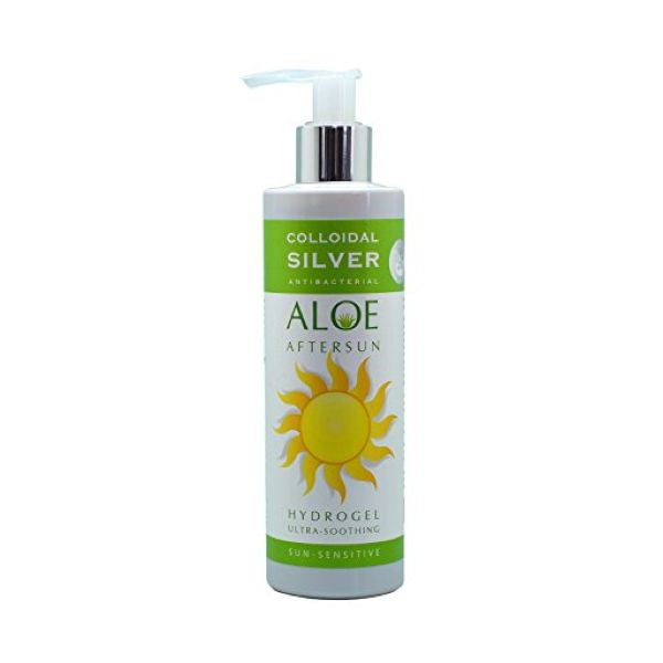 Natures Greatest Secret Colloidal Silver After Sun Aloe Hydrogel 250ml