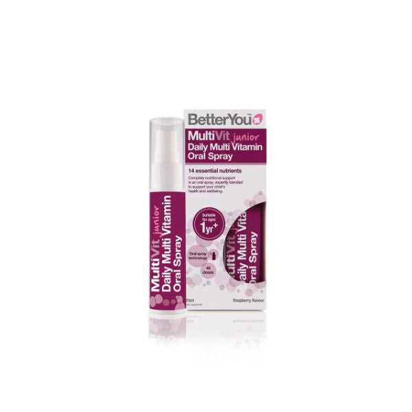 Better You Multivit Junior Daily Oral Spray 25ml