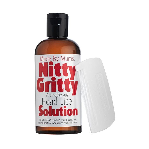 Nitty Gritty Aromatherapy Head Lice Kit 150ml