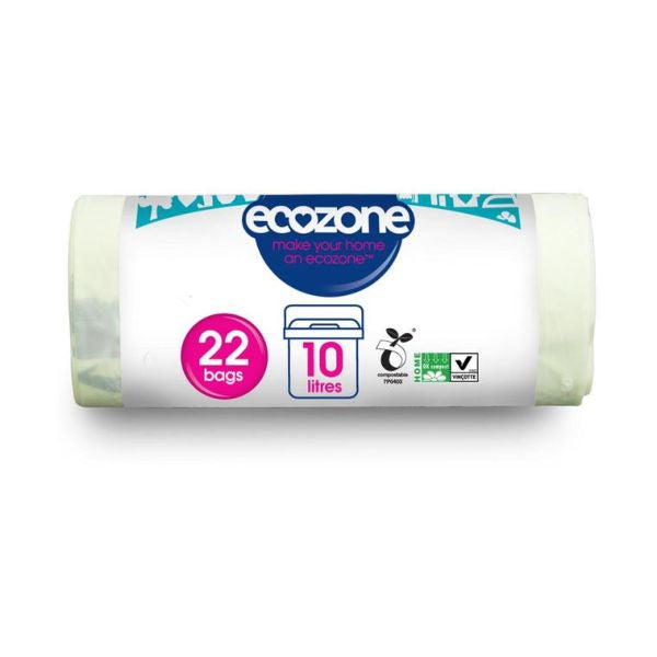 Ecozone Compostable Caddy Liners Pack of 22