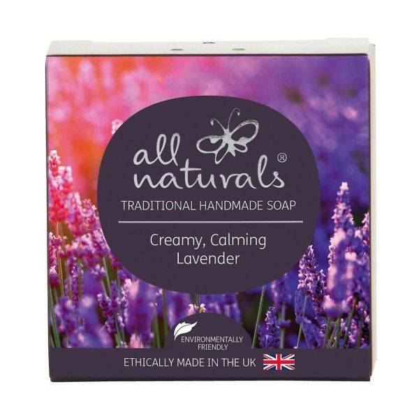 All Natural - Lavender Natural Organic Soap Bars 100g