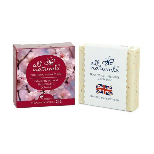 All Natural - Almond Blossom Organic Soap Bars 100g