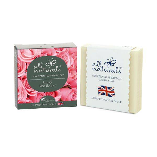 All Natural - Rose Natural Organic Soap Bars 100g