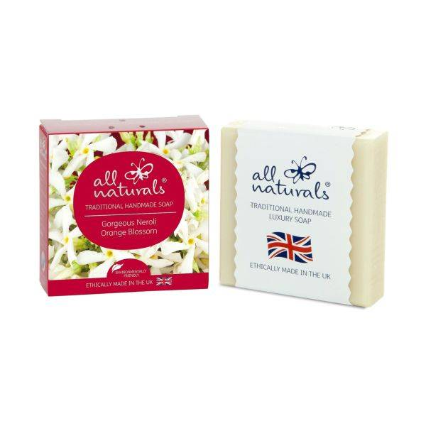 All Natural - Neroli Natural Organic Soap Bars 100g