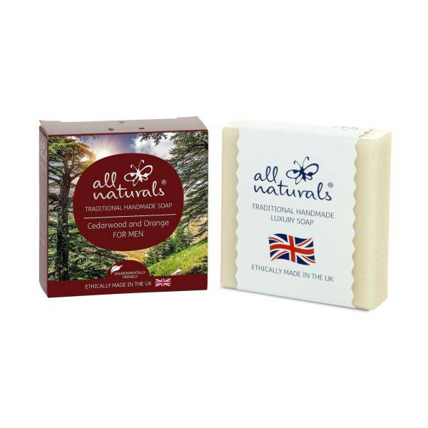 All Natural - Cedarwood Natural Organic Soap Bars 100g