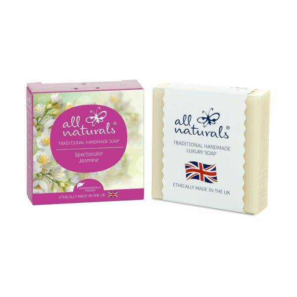 All Natural - Jasmine Natural Organic Soap Bars 100g