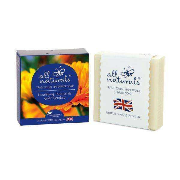 All Natural - Chamomile & Calendula Natural Organic Soap Bars 100g