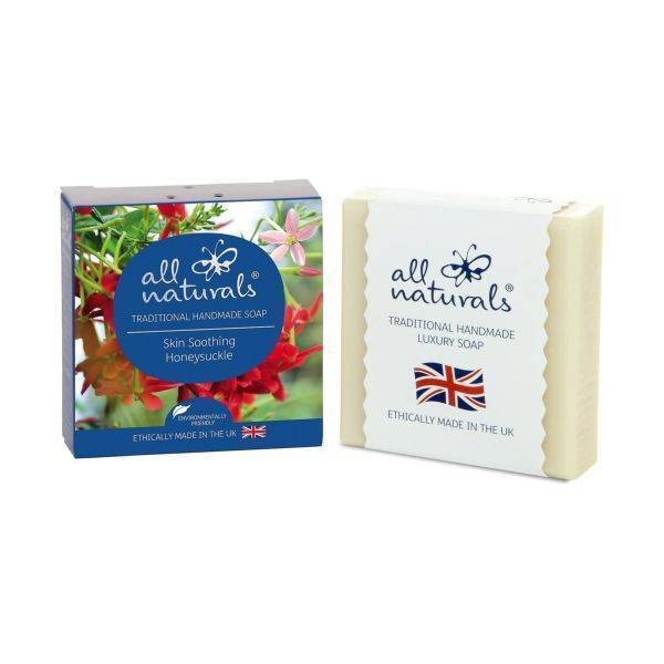 All Natural - Honeysuckle Natural Organic Soap Bars 100g