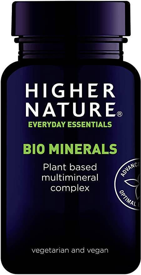 Higher Nature - Bio Minerals 90tabs