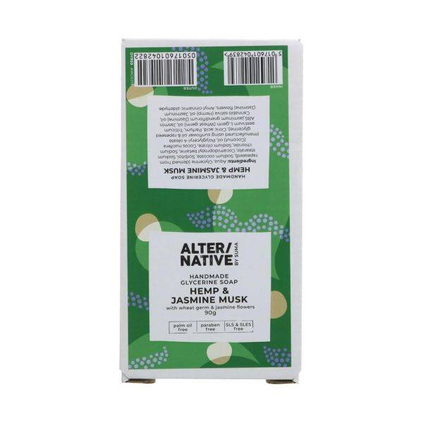 Alter/Native - Gentle Hemp & Jasmine Musk 90g (x 6pack)