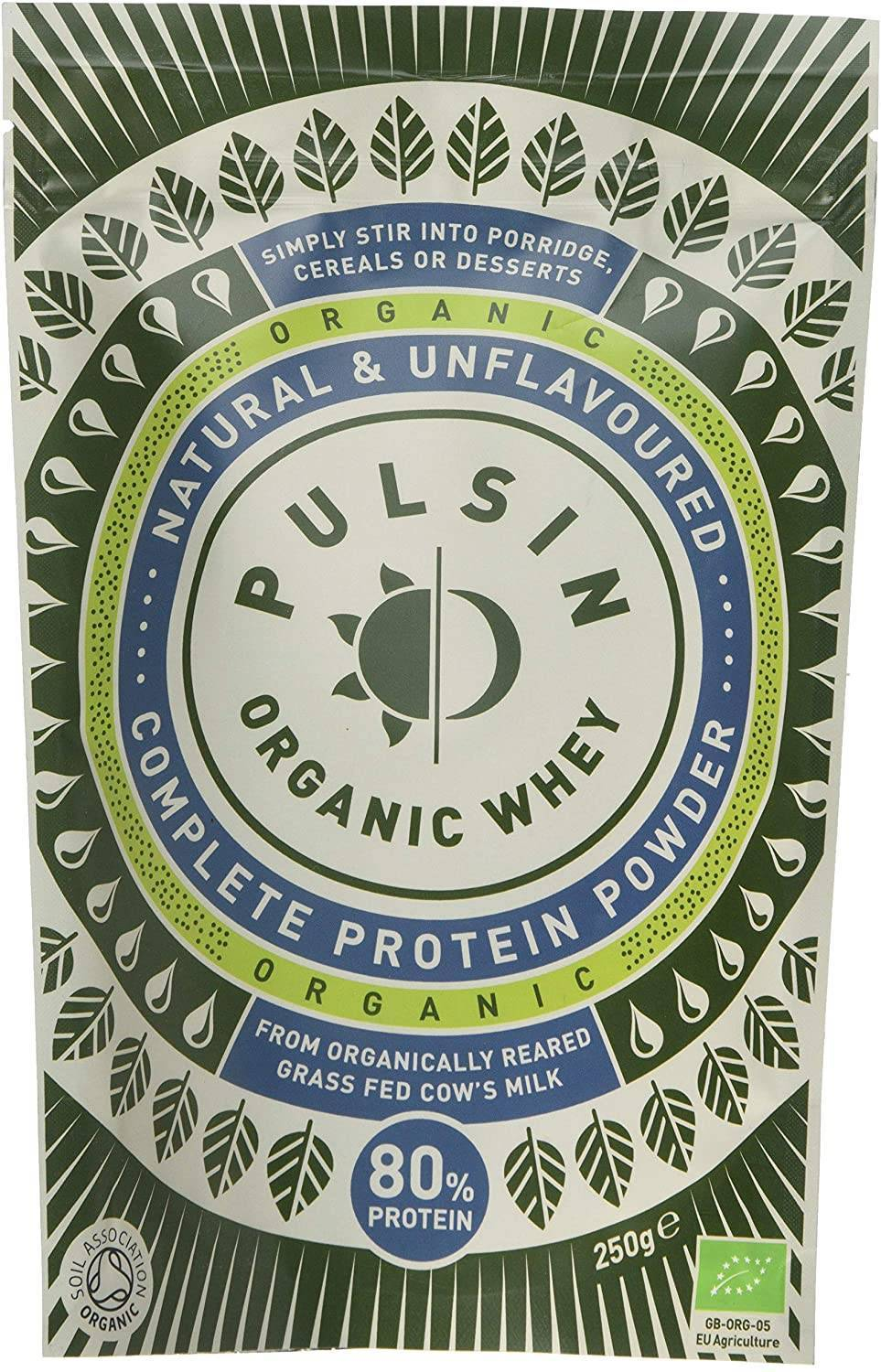 Pulsin - Organic Whey Protein Concentrate 250g